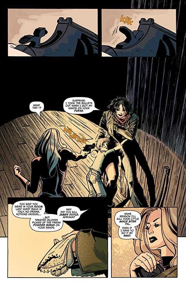 The Unknown: The Devil Made Flesh #3 (of 4)