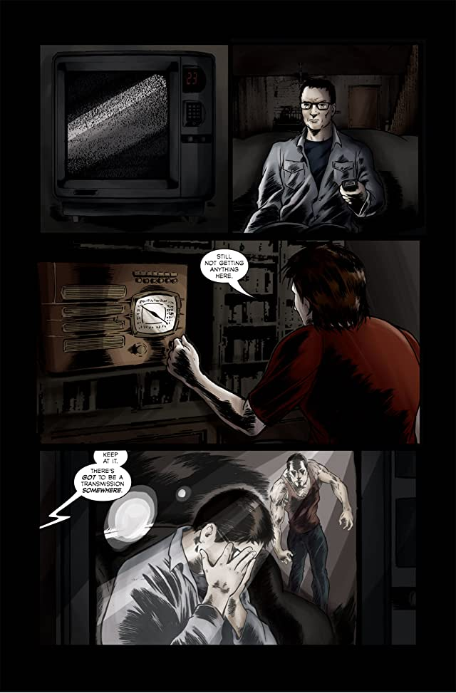 click for super-sized previews of Quarantined #1