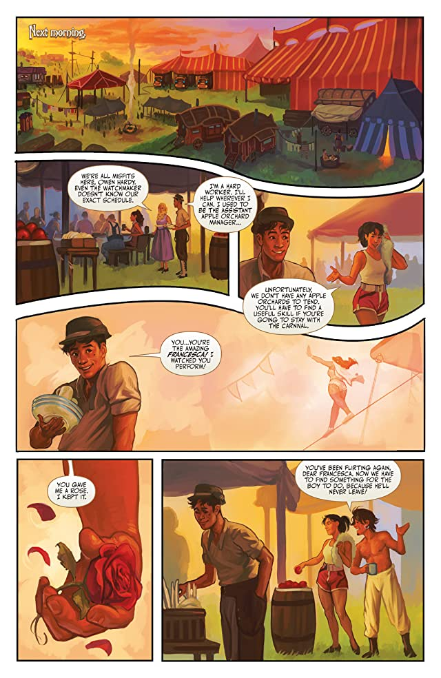 click for super-sized previews of Clockwork Angels #3