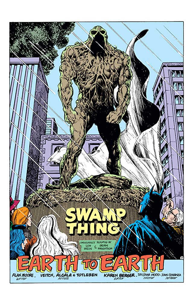 click for super-sized previews of Swamp Thing (1982-1996) #55