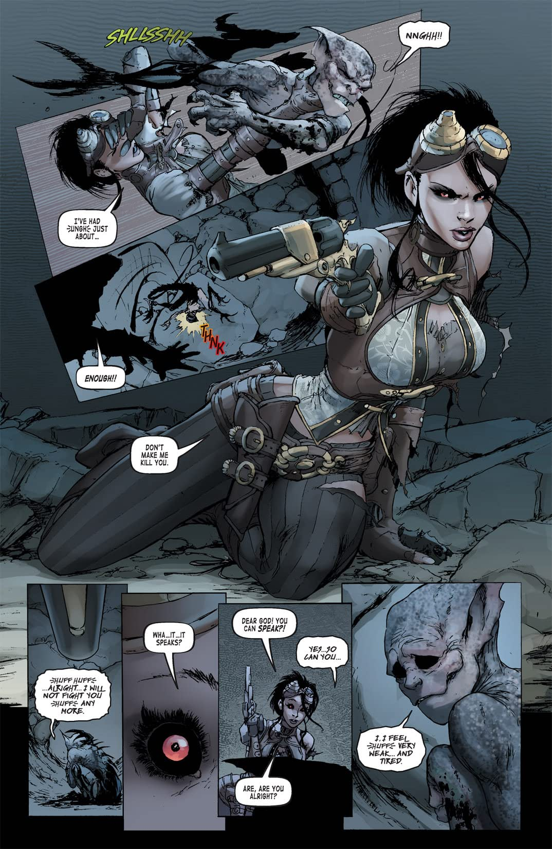 Lady Mechanika #0