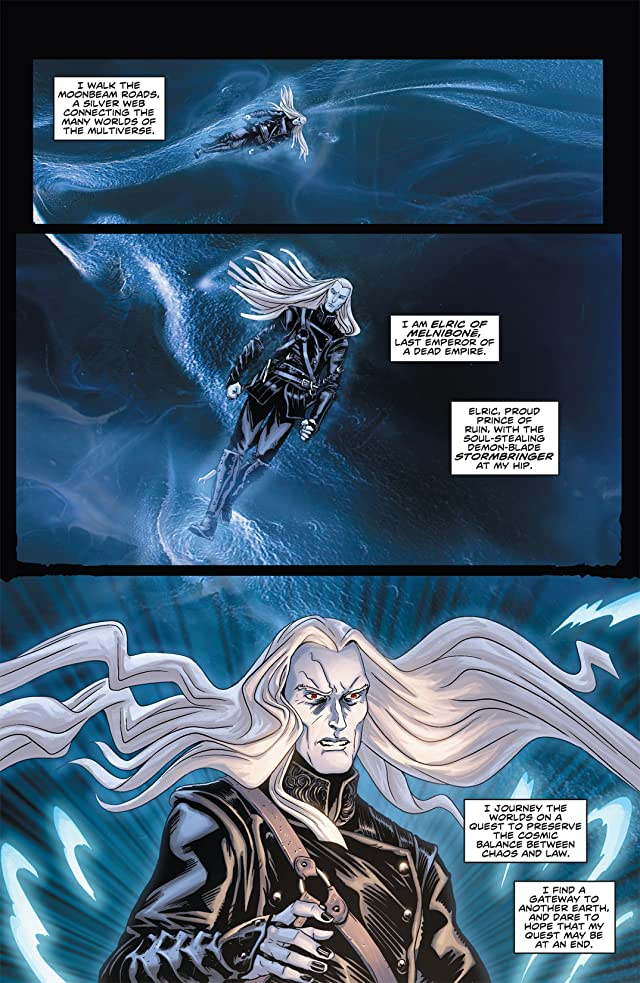 click for super-sized previews of Elric: The Balance Lost #1