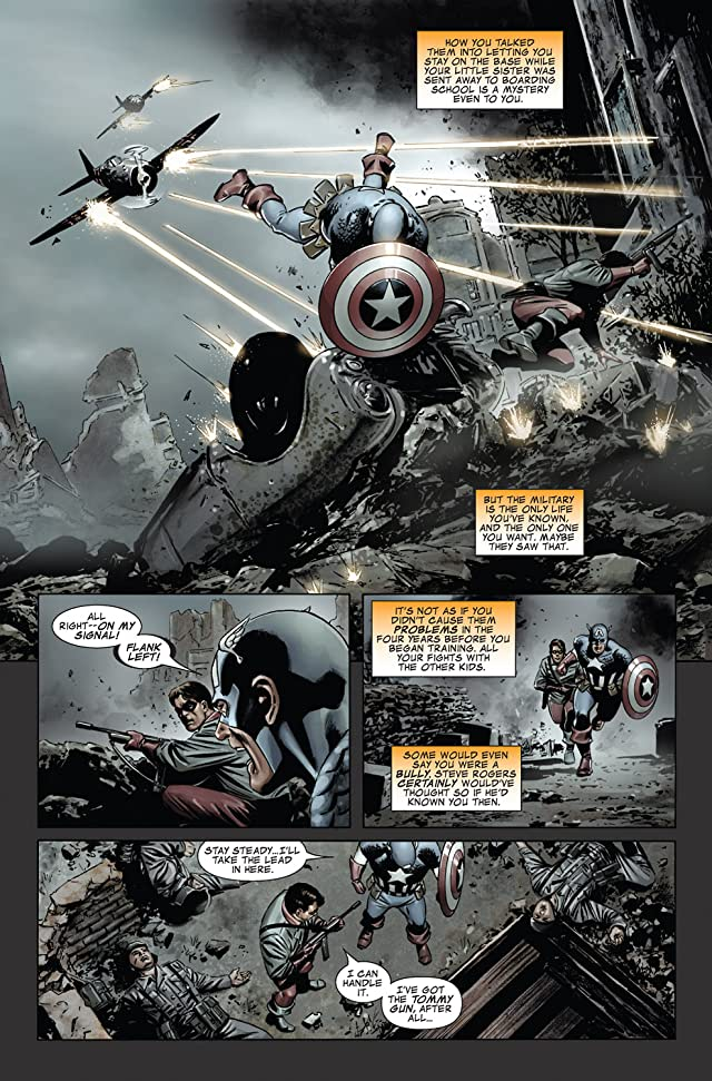 click for super-sized previews of Captain America (2004-2011) #31