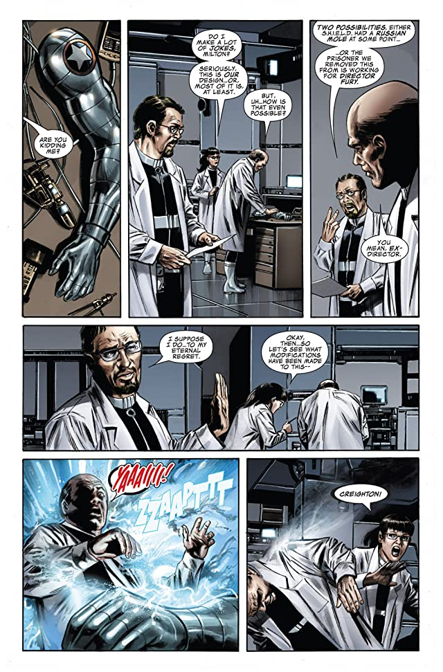click for super-sized previews of Captain America (2004-2011) #33