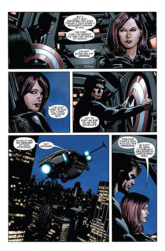 click for super-sized previews of Captain America (2004-2011) #34