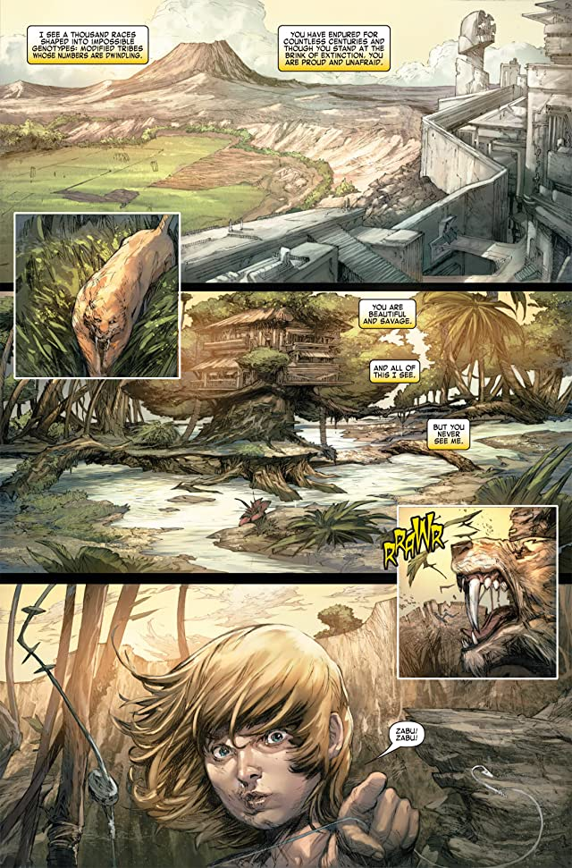 click for super-sized previews of Ka-Zar (2011) #1