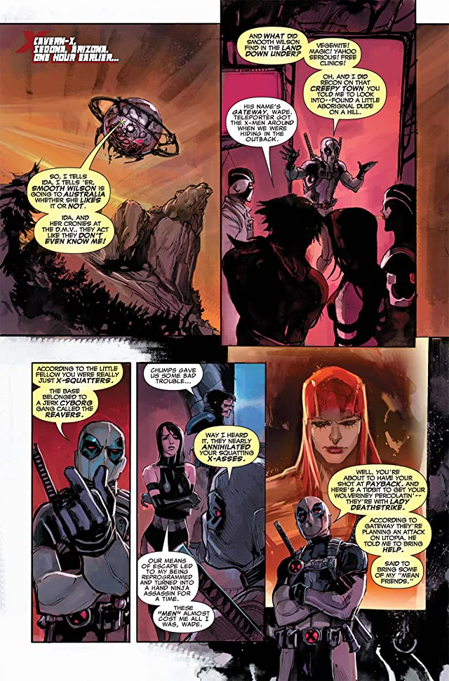 click for super-sized previews of Uncanny X-Force (2010-2012) #5.1