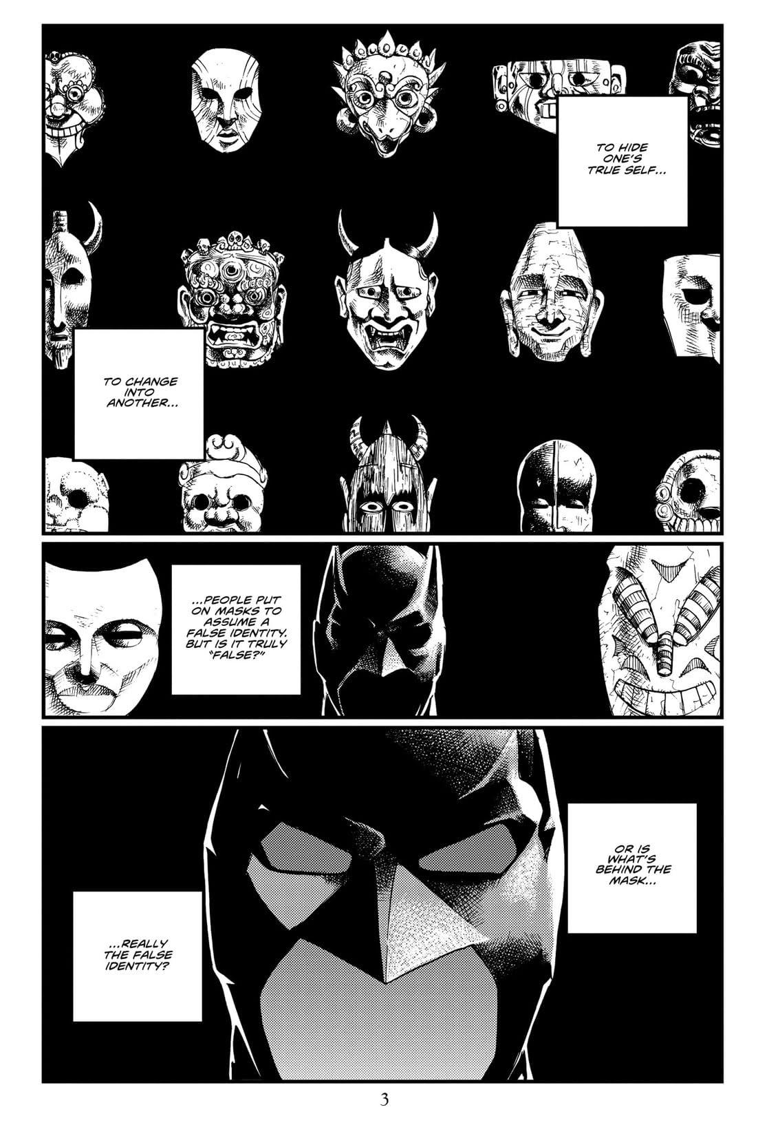 Batman: Death Mask