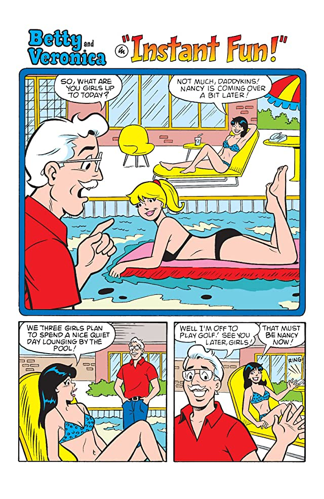 click for super-sized previews of B & V Friends: Pool Party