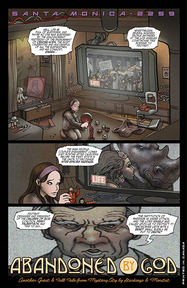 click for super-sized previews of Elephantmen #6