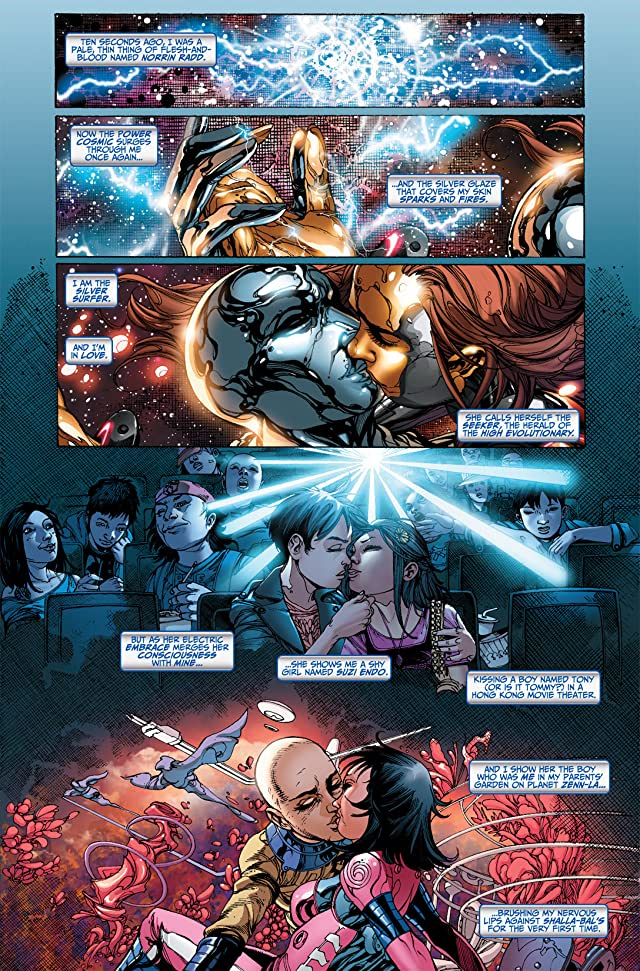 click for super-sized previews of Silver Surfer (2011) #5