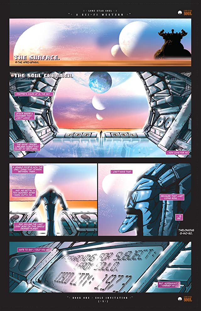 click for super-sized previews of Lone Star Soul #1