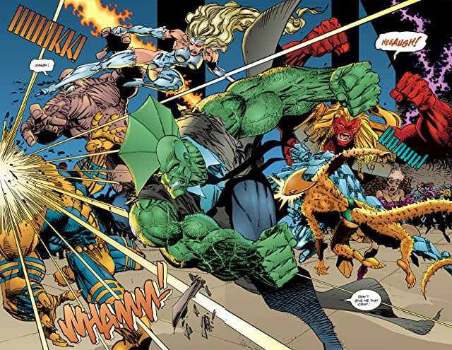 click for super-sized previews of Savage Dragon #6
