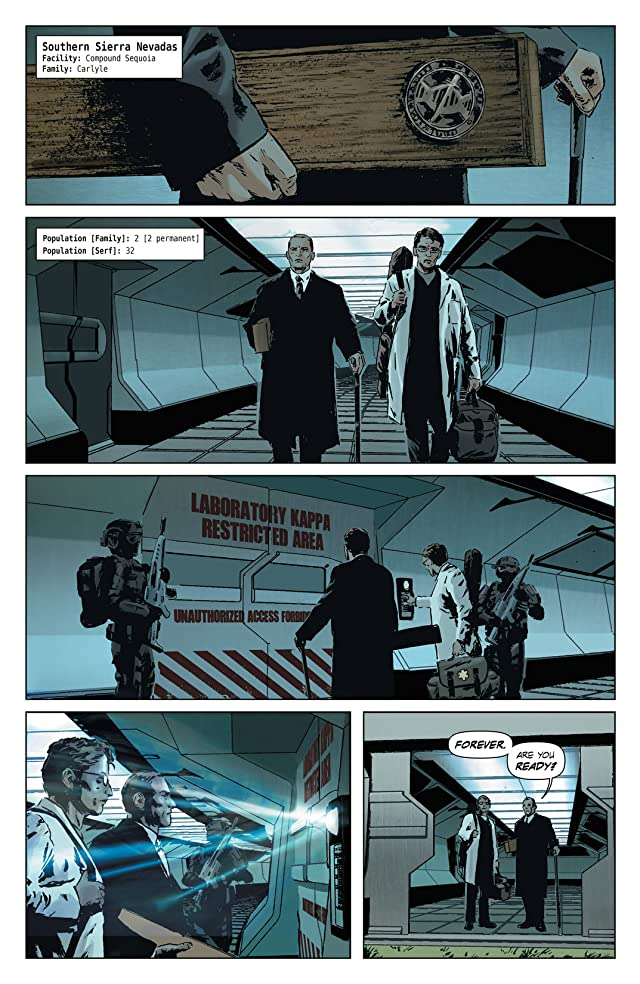click for super-sized previews of Lazarus #9