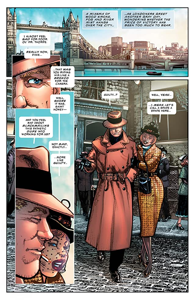 click for super-sized previews of The Shadow: Midnight in Moscow #2: Digital Exclusive Edition