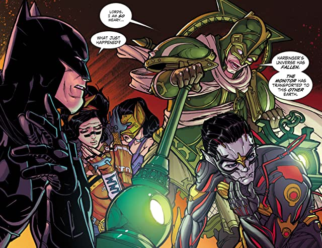 click for super-sized previews of Infinite Crisis: Fight for the Multiverse (2014-) #7