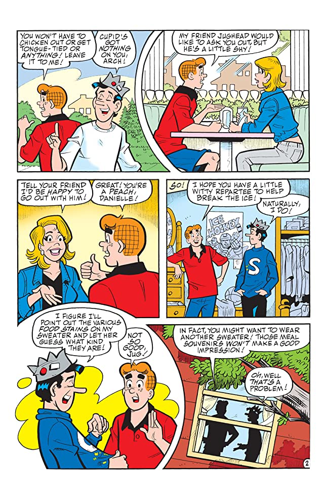 click for super-sized previews of Jughead #181