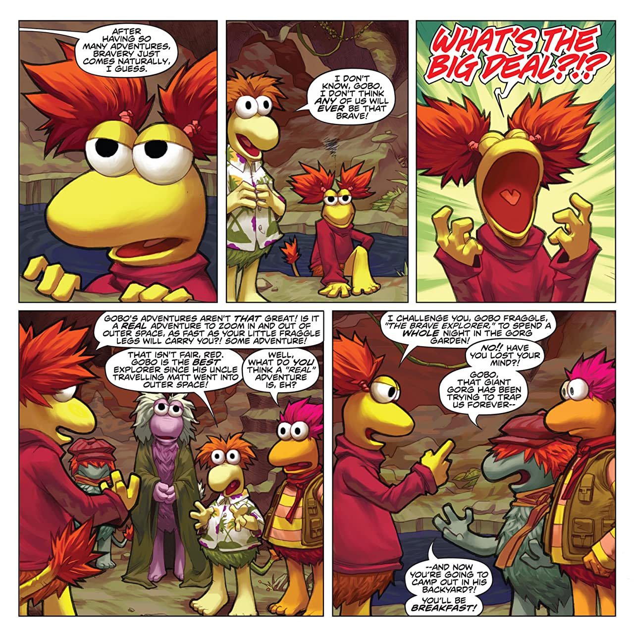 Jim Henson's Fraggle Rock Vol. 1 #1 (of 3)
