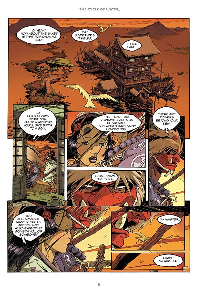 click for super-sized previews of Okko: The Cycle of Water #1