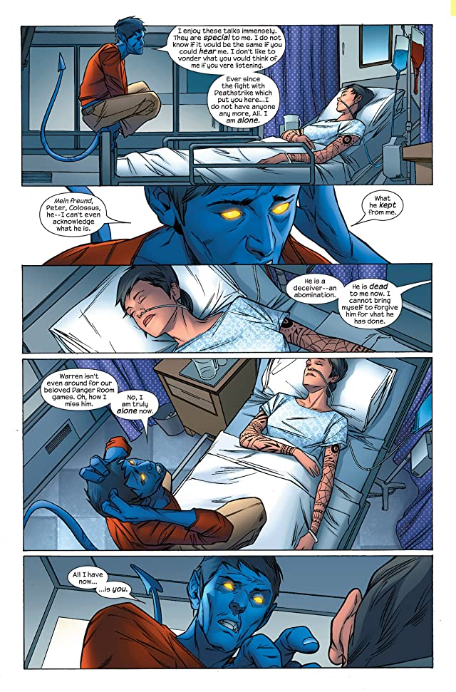 click for super-sized previews of Ultimate X-Men #70