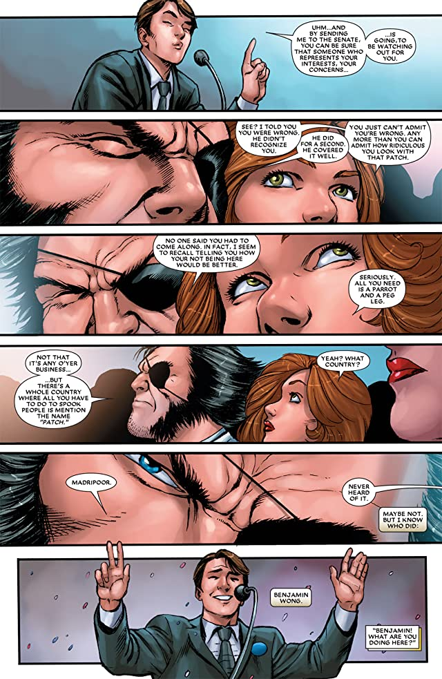 click for super-sized previews of Wolverine: First Class #17