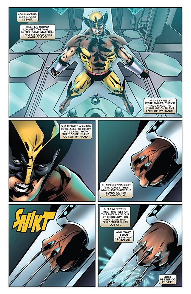 click for super-sized previews of Wolverine: First Class #20