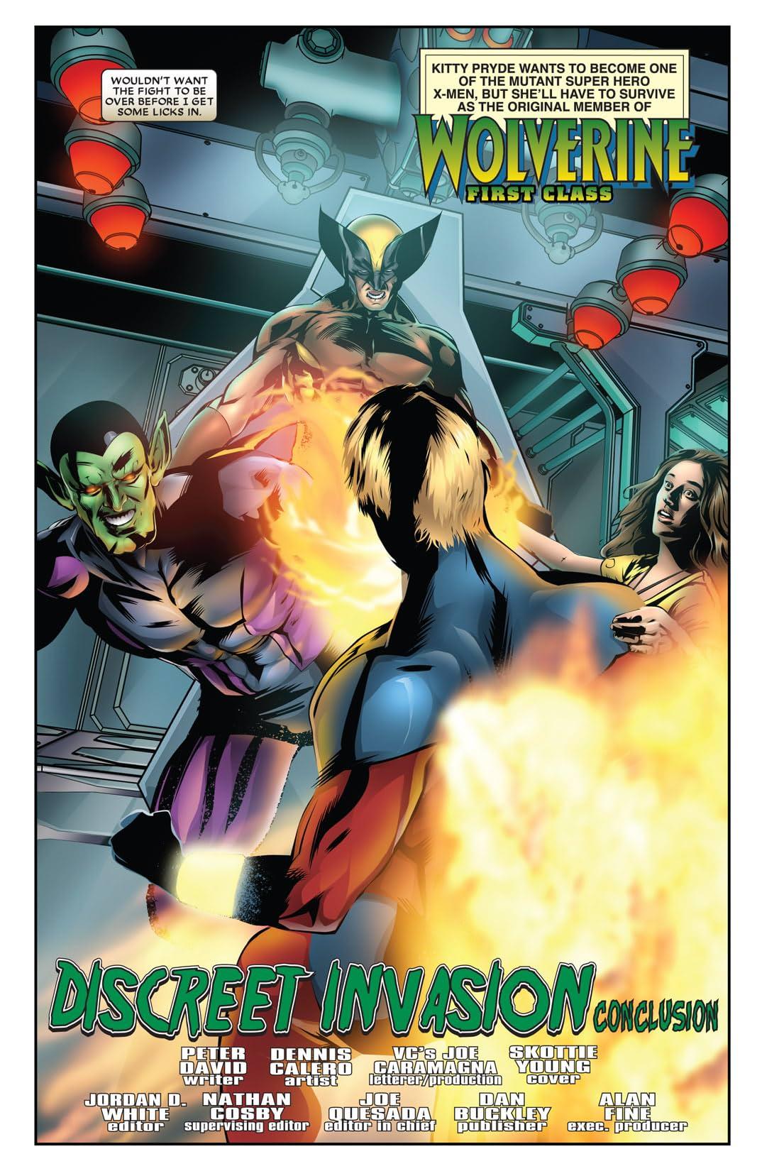 Wolverine: First Class #20