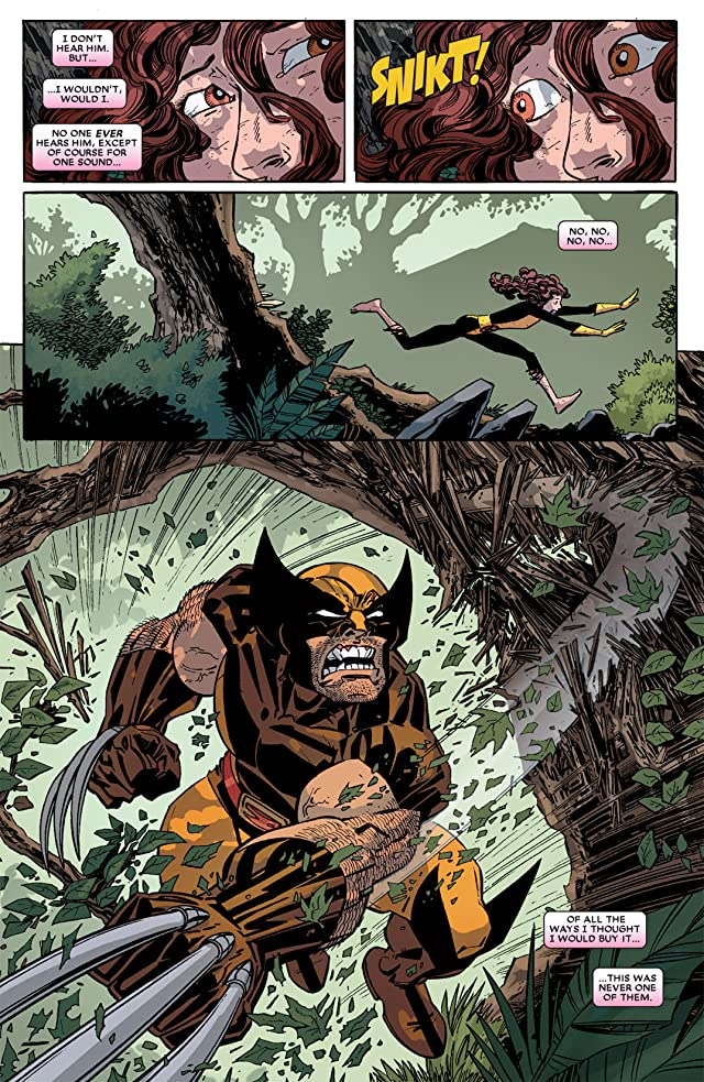 click for super-sized previews of Wolverine: First Class #21