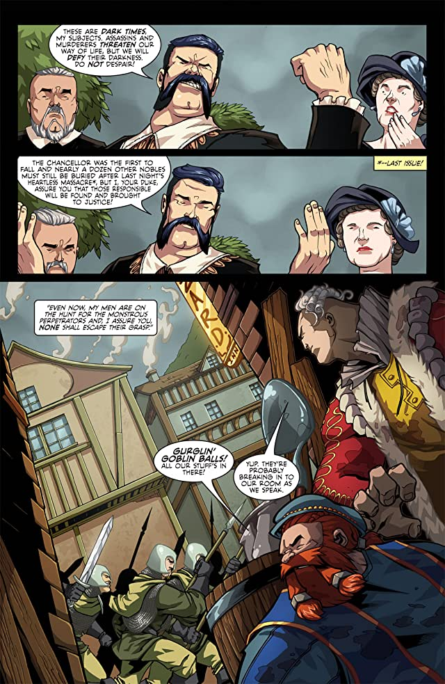 click for super-sized previews of Skullkickers #8