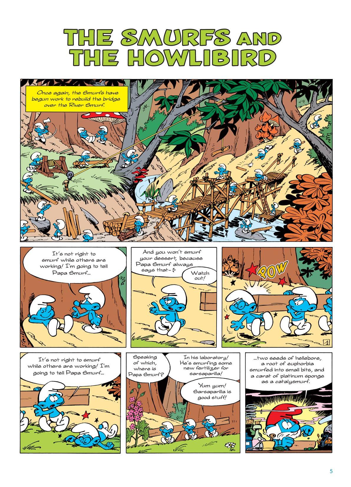 The Smurfs Vol. 6: The Smurfs and the Howlibird