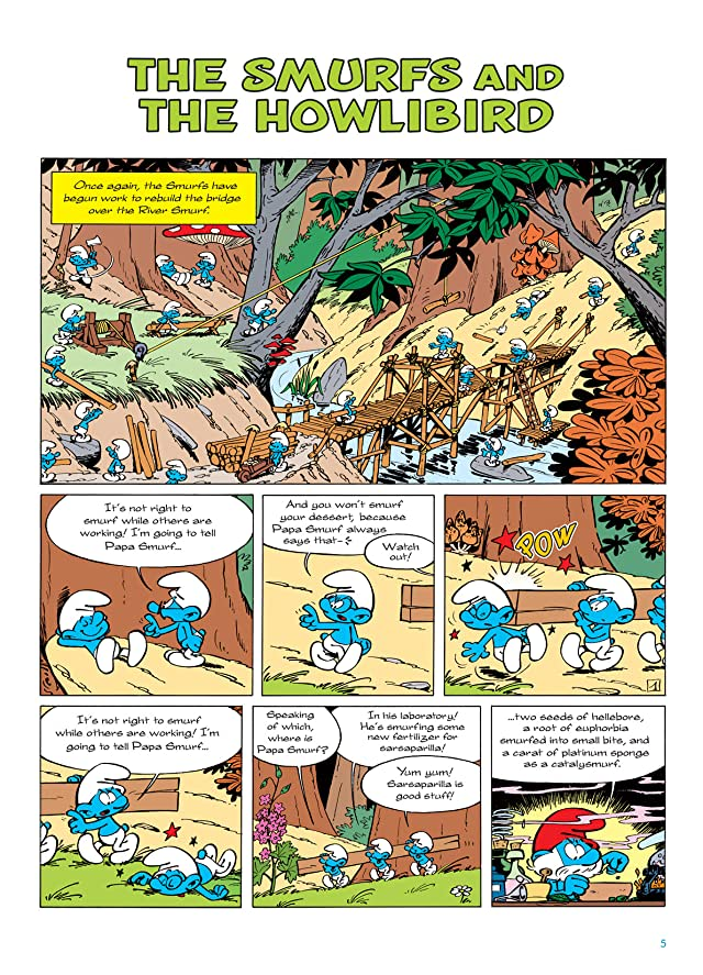 click for super-sized previews of The Smurfs Vol. 6: The Smurfs and the Howlibird
