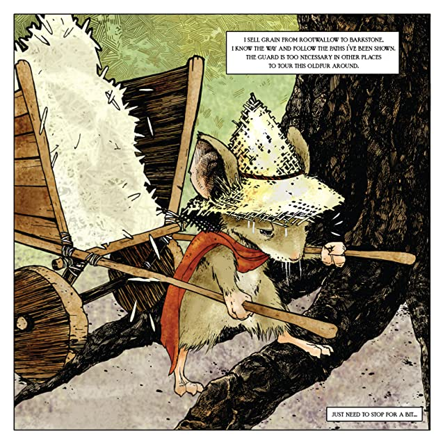 click for super-sized previews of Mouse Guard: Fall 1152 #1