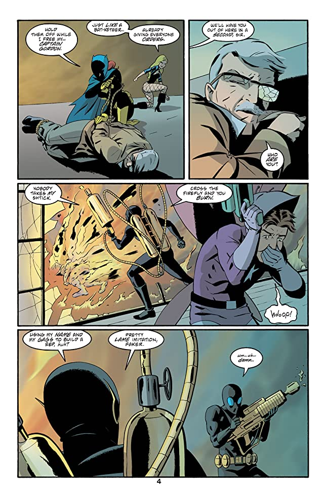 click for super-sized previews of Batgirl: Year One #7
