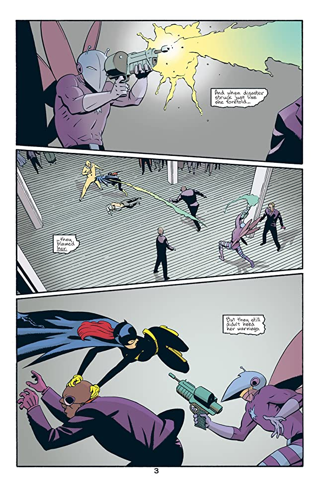click for super-sized previews of Batgirl: Year One #1