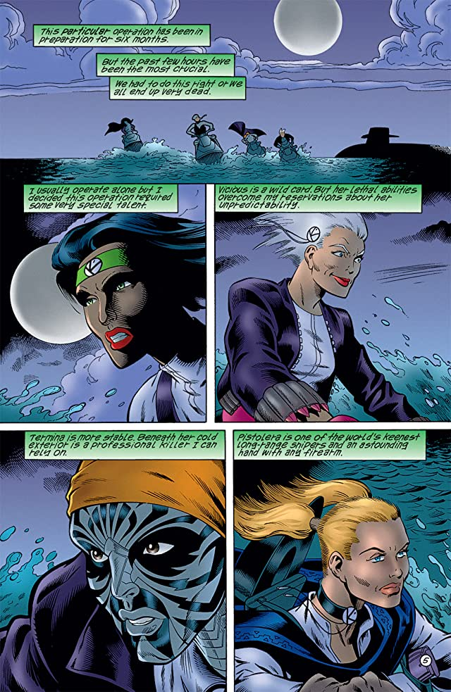 click for super-sized previews of Birds of Prey: The Ravens #1