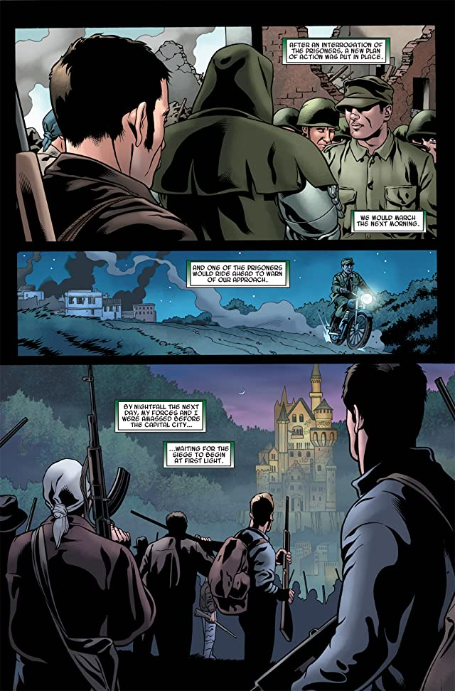 click for super-sized previews of Fantastic Four: Books of Doom #6