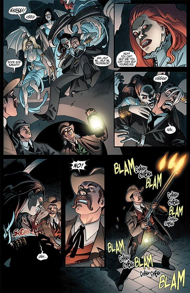 Victorian Undead II: Sherlock Holmes vs. Dracula #4 (of 5)
