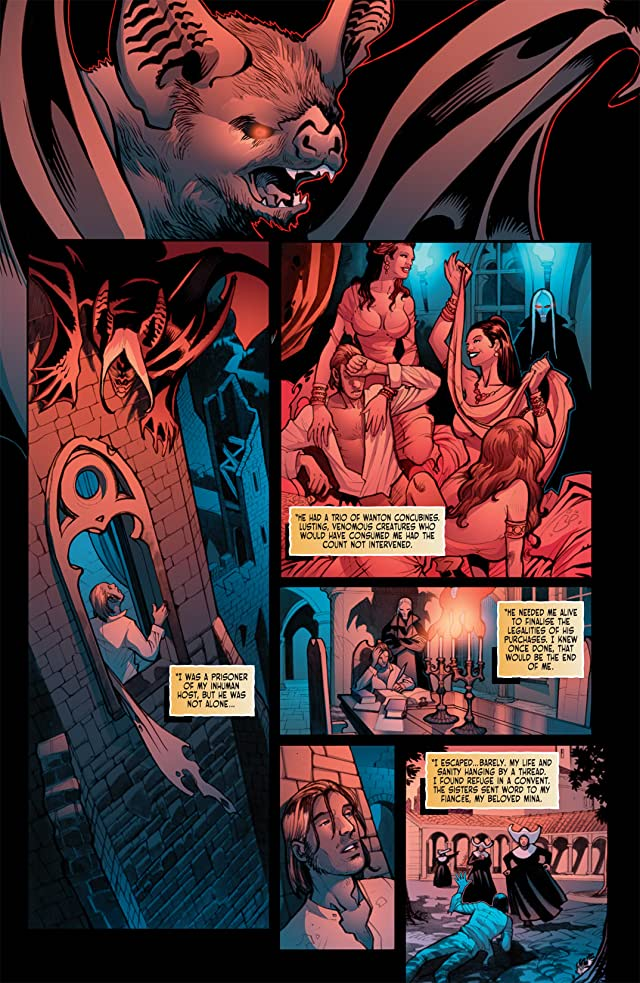 click for super-sized previews of Victorian Undead II: Sherlock Holmes vs. Dracula #3
