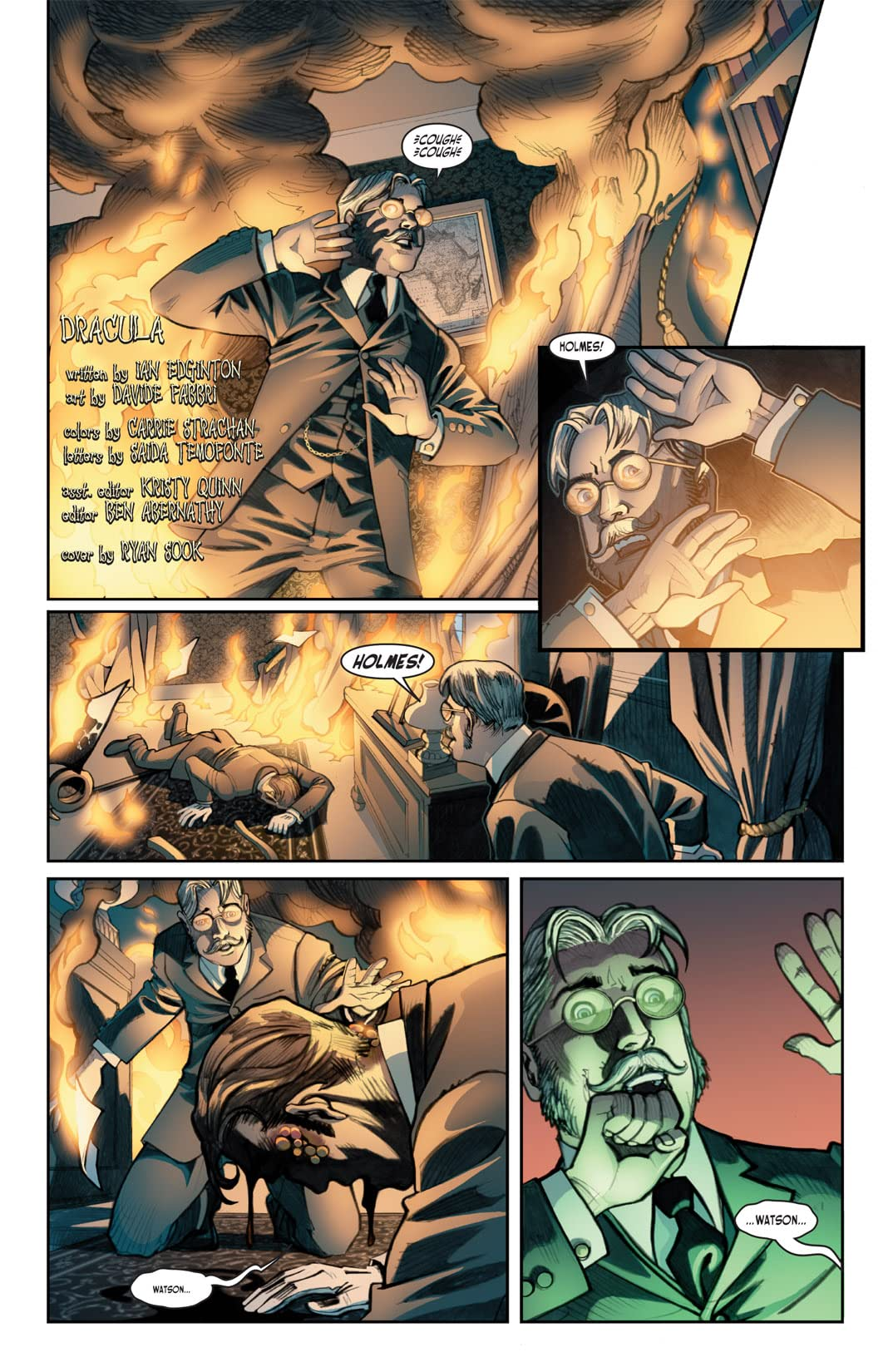 Victorian Undead II: Sherlock Holmes vs. Dracula #2 (of 5)