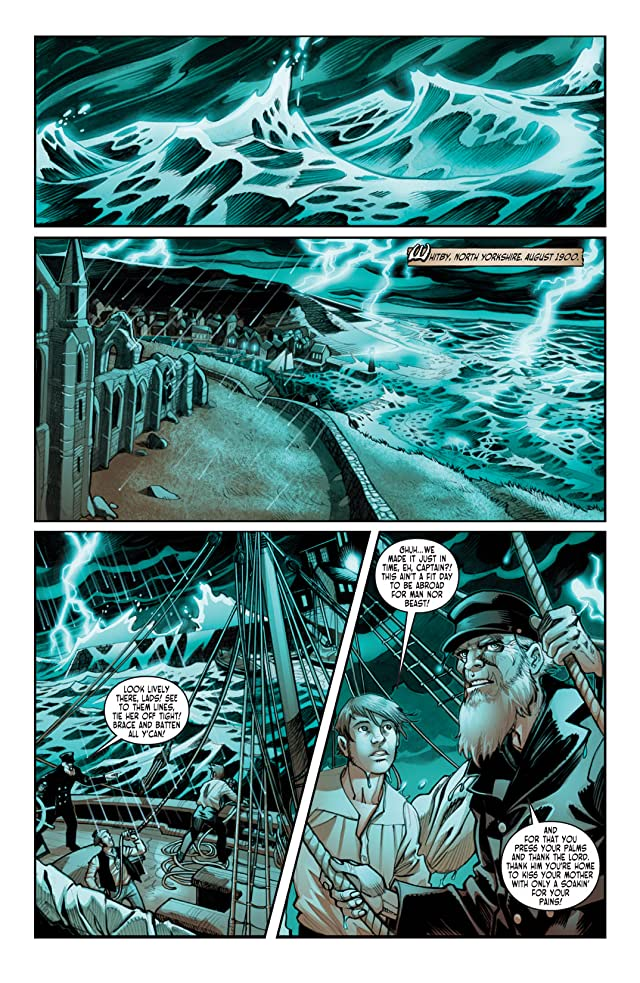 click for super-sized previews of Victorian Undead II: Sherlock Holmes vs. Dracula #1 (of 5)