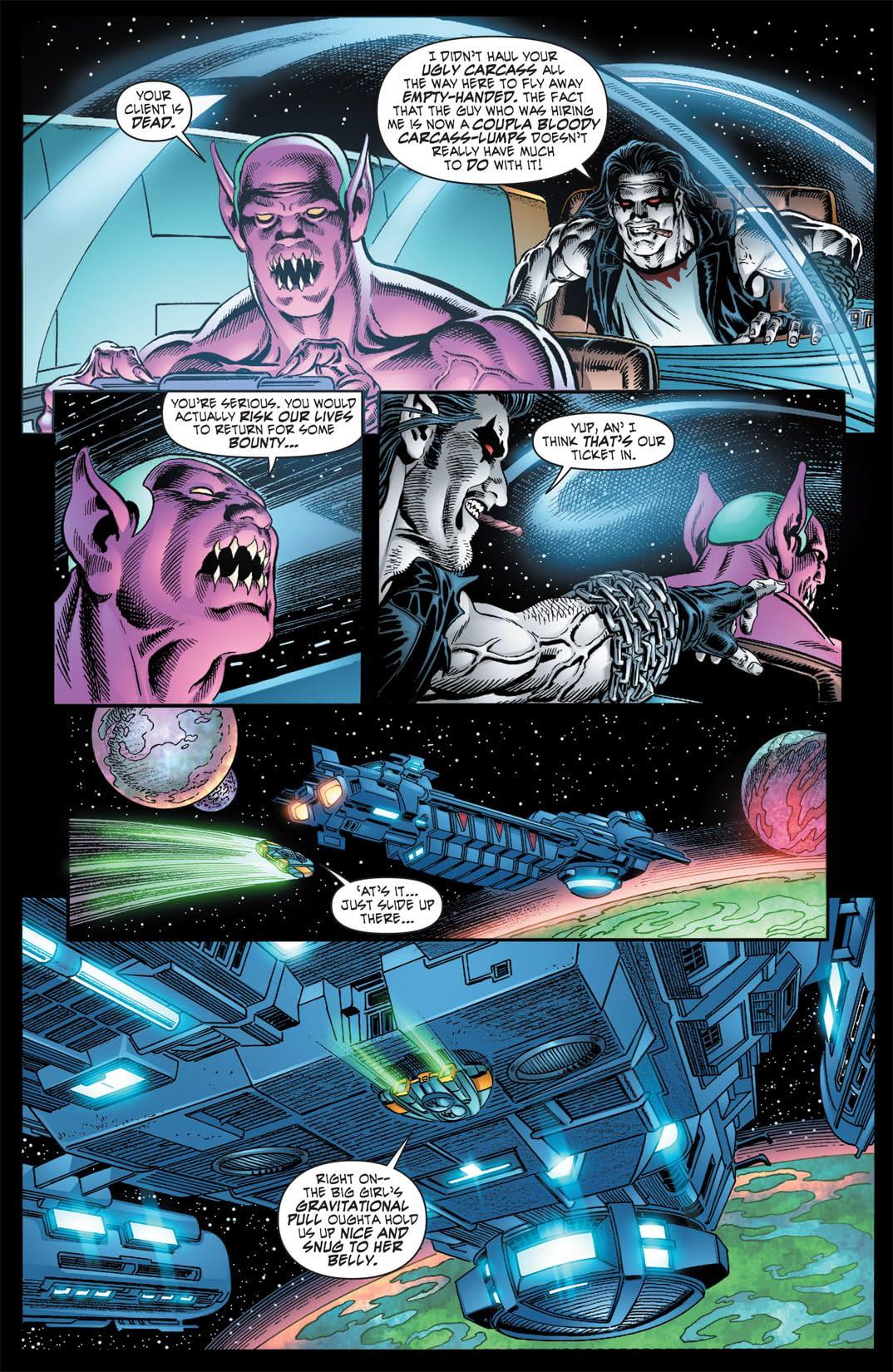 Weird Worlds #4 (of 6)