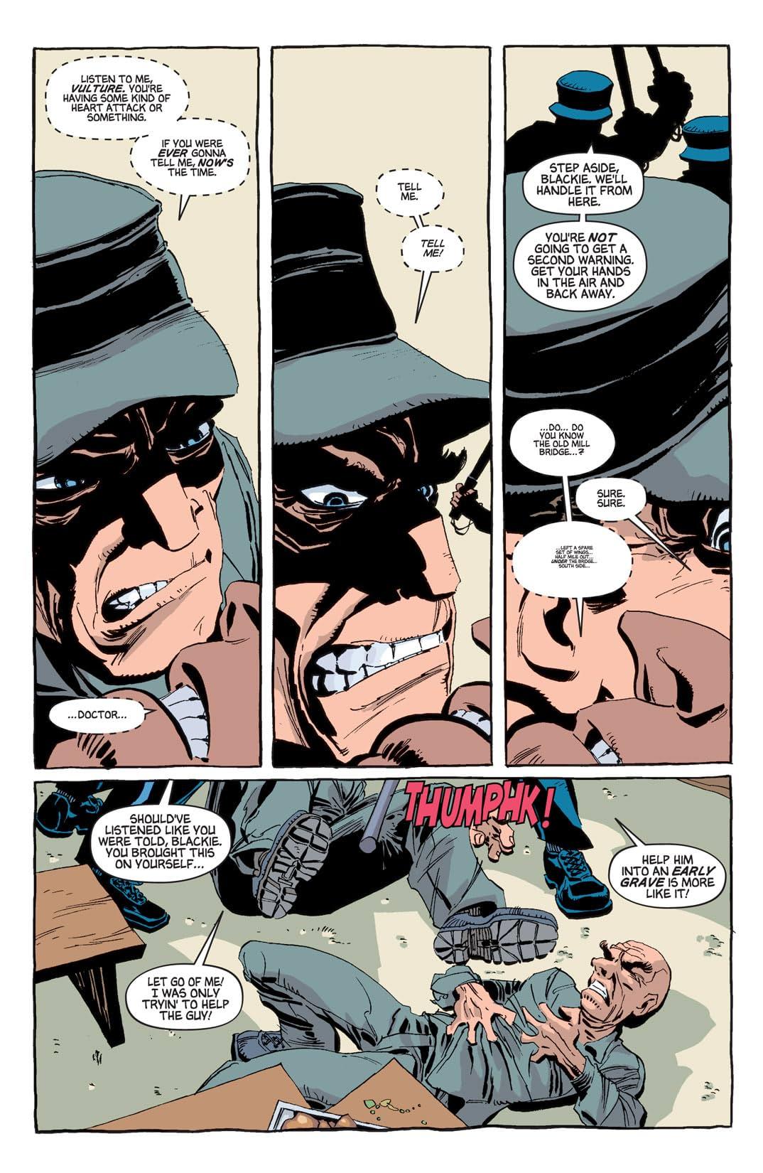 Spider-Man: Blue #4