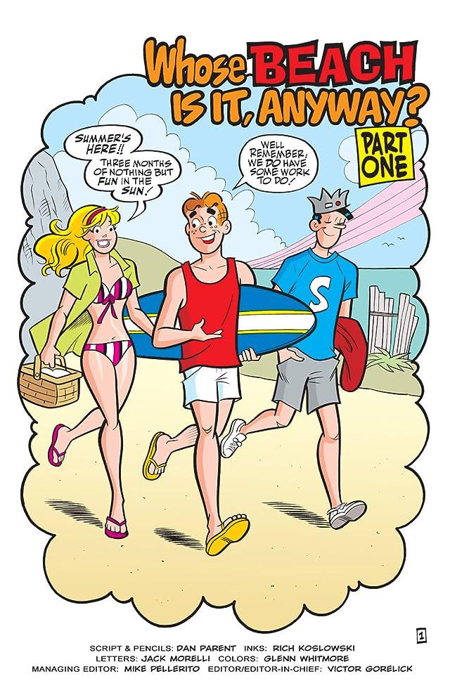 Free Comic Book Day 2010: Archie's Summer Splash
