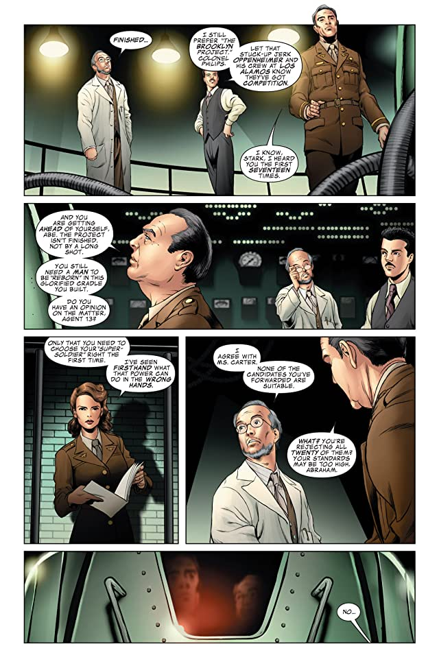 click for super-sized previews of Captain America: The First Avenger #8: First Vengeance