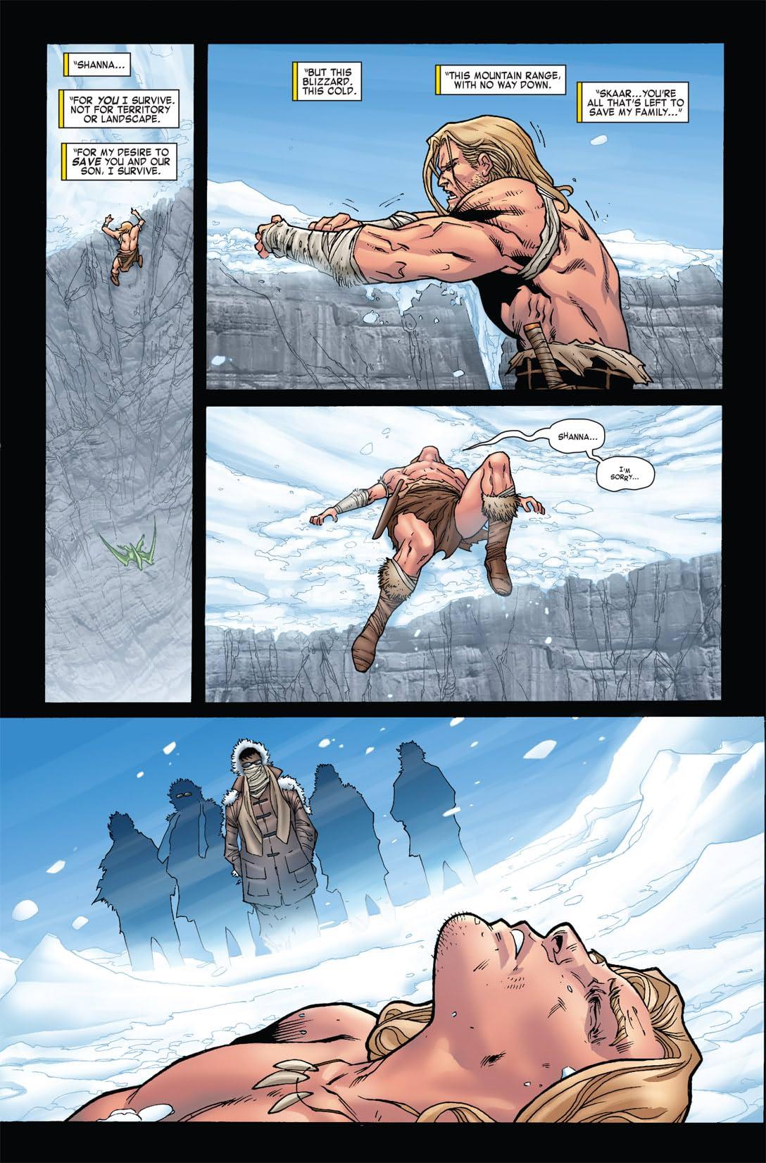 Skaar: King of the Savage Land #4 (of 5)