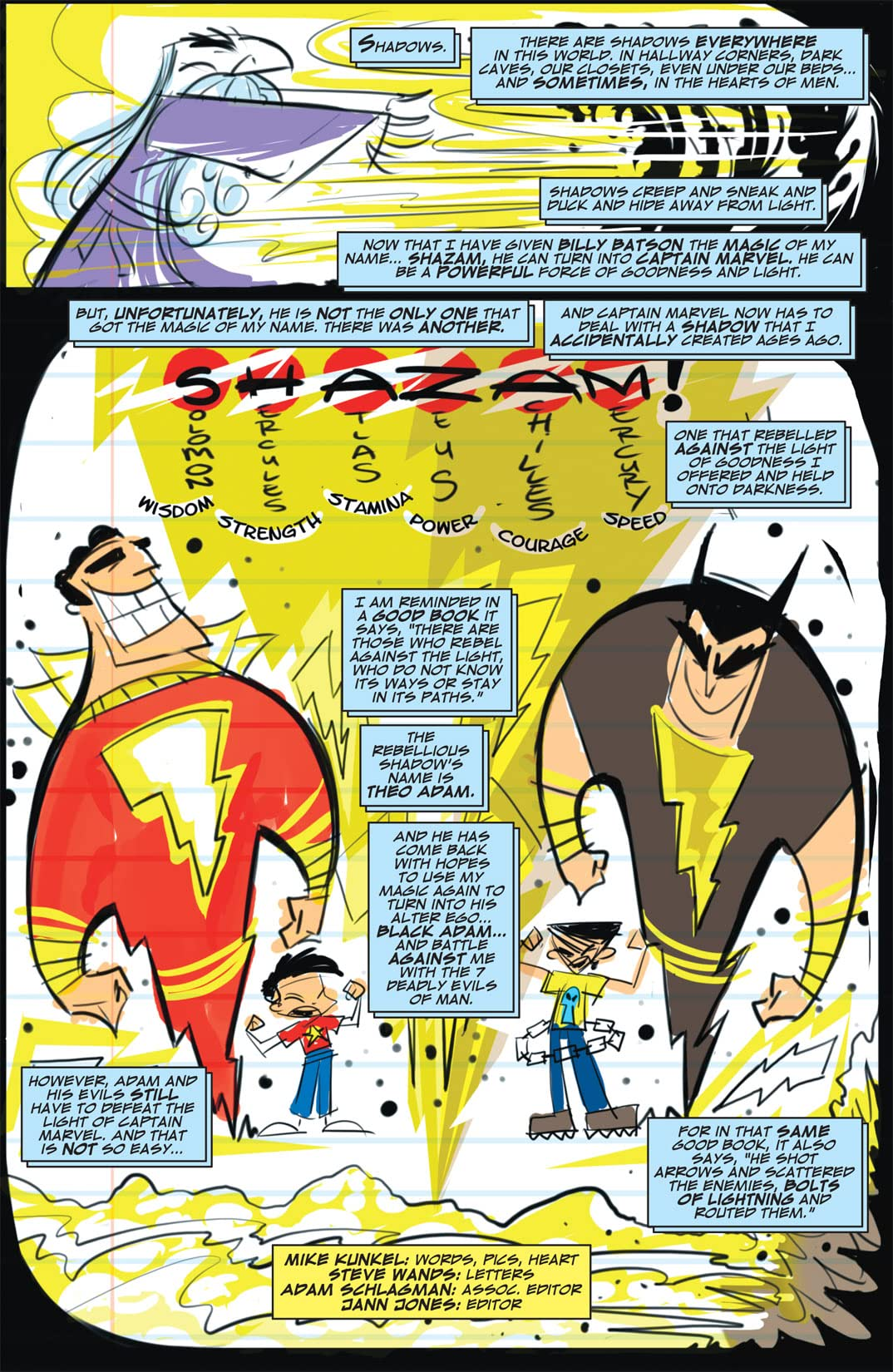 Billy Batson and the Magic of Shazam! #3