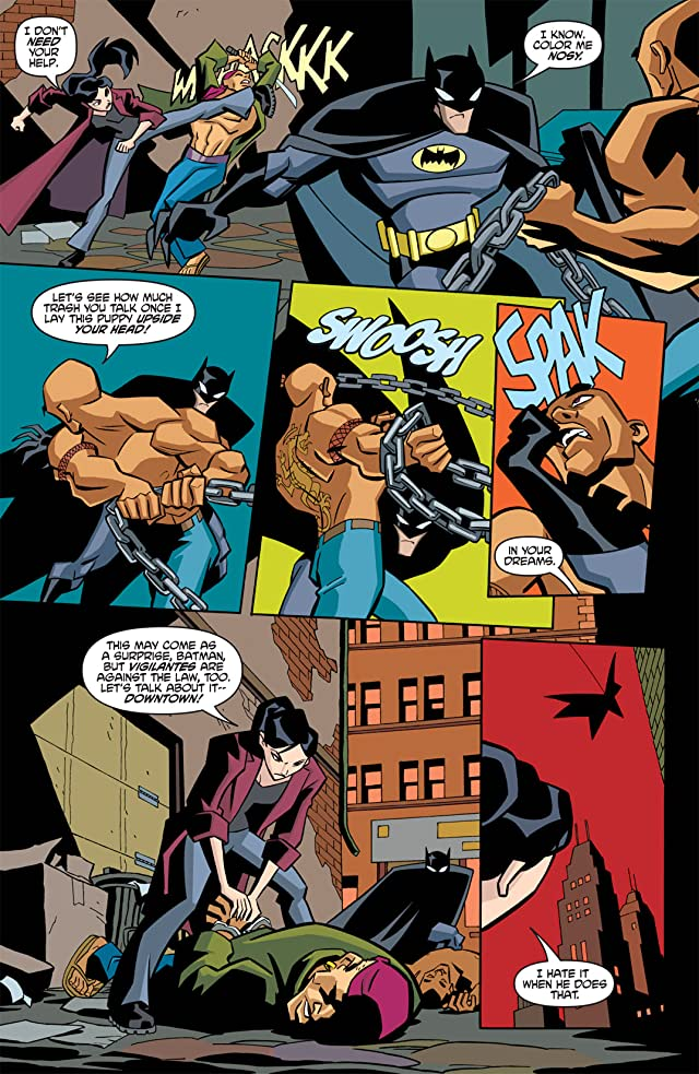 click for super-sized previews of The Batman Strikes! #2