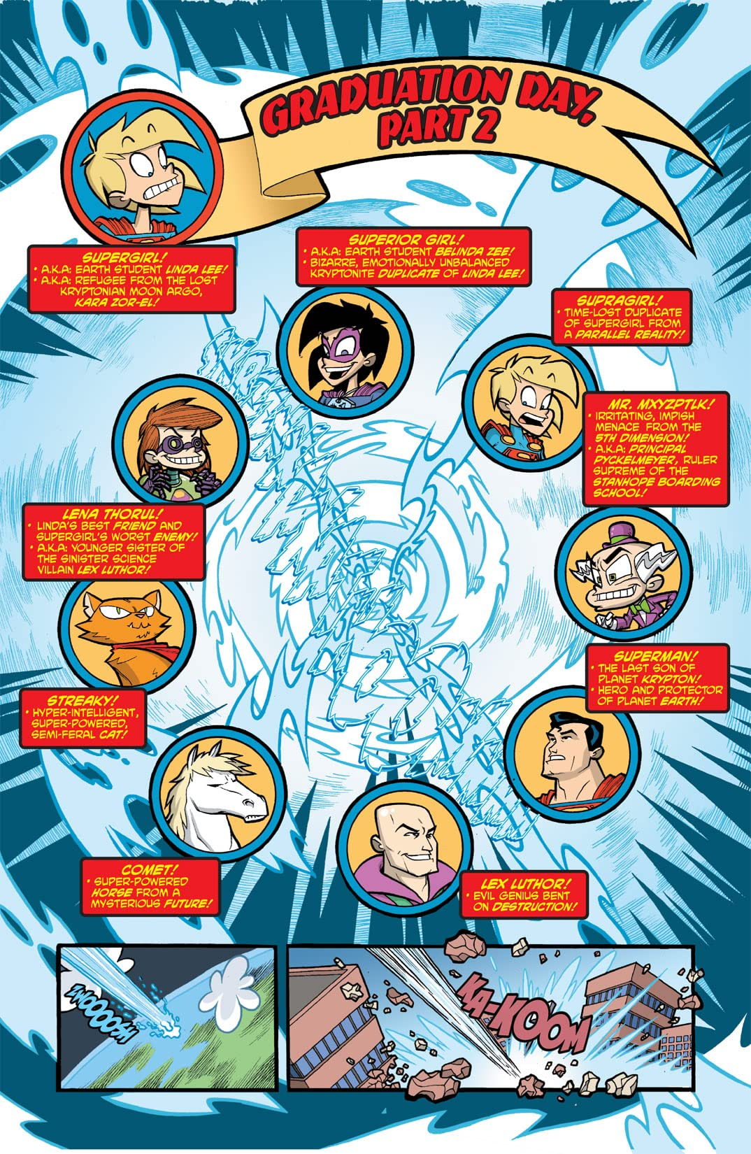 Supergirl: Cosmic Adventures In the 8th Grade #6 (of 6)