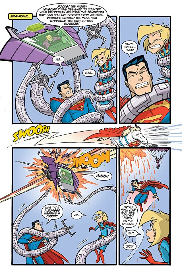 click for super-sized previews of Supergirl: Cosmic Adventures In the 8th Grade #6