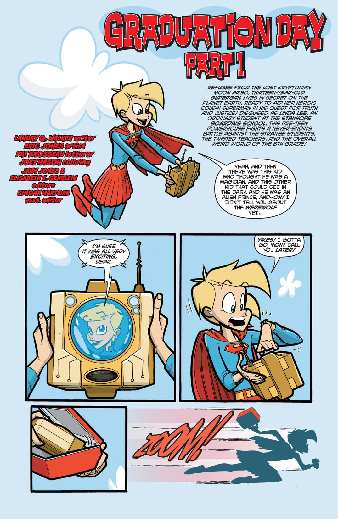 Supergirl: Cosmic Adventures In the 8th Grade #5 (of 6)